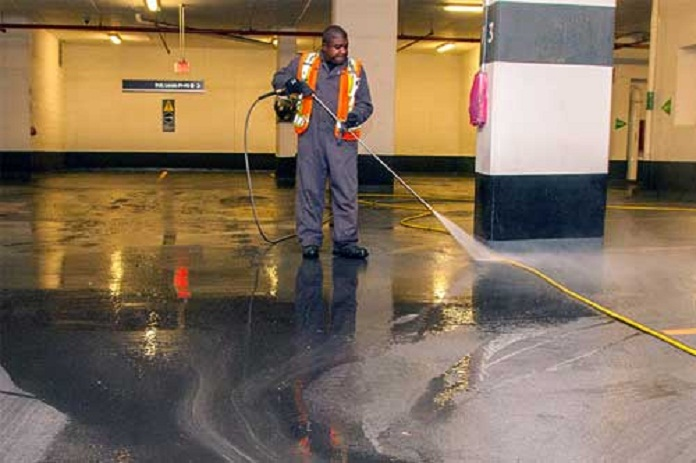 Car park cleaning services